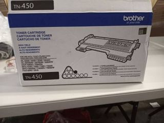 Brother Genuine High Yield Toner Cartridge  TN450  Replacement Black Toner  Page Yield Up To 2 600 Pages