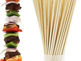 Prouten Thick Sturdy Bamboo Skewer Sticks