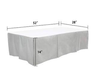 TIllYOU Gray Pleated Crib Skirt