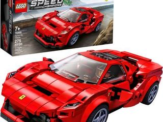 lEGO Speed Champions 76895 Ferrari F8 Tributo Toy Cars for Kids  Building Kit Featuring Minifigure  New 2020  275 Pieces