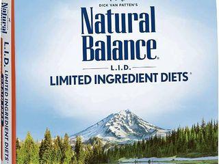 Natural Balance l I D  limited Ingredient Diets Dry Dog Food