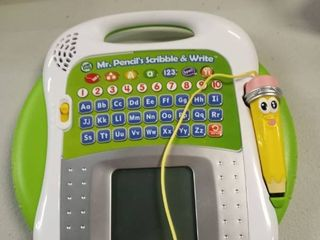 leapFrog Mr  Pencil s Scribble and Write  Green