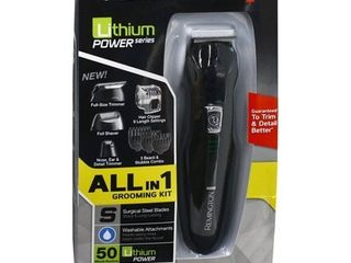 Remington PG6025 All in 1 lithium Powered Grooming Kit