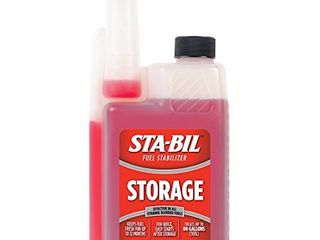 STA BIl  22214  Storage Fuel Stabilizer   Guaranteed To Keep Fuel Fresh Fuel Up To Two Years