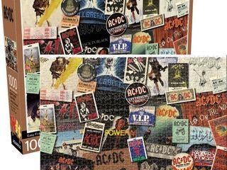AC DC Albums 1 000 pc Puzzle