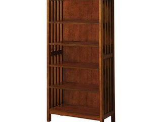 Valencia I Traditional Media Shelf  Antique Oak  Retail 188 99