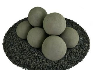 Ceramic Fire Balls   Fire Pit Accessory   Modern Decor for Indoor   Outdoor Fire Pits or Fireplaces  Retail 89 99