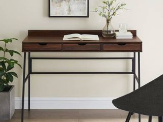 Carbon loft 42 inch 3 Drawer Writing Desk  Retail 189 99