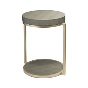 Alden D cor Chester Round Side Table  Retail 163 99