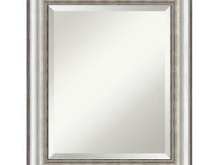 Salon Silver Bathroom Vanity Wall Mirror  Retail 136 49