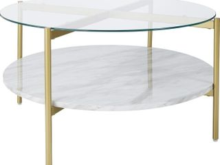 Wynora Round Cocktail Table  Retail 195 99