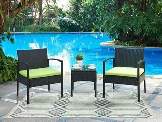 DG Casa San Juan 2 Chairs and Table Set  Set of 3  Retail 179 99