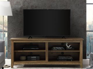 58 inch TV Stand Console with Adjustable Shelving  Retail 215 99