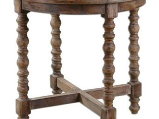Uttermost Samuelle Reclaimed Wood End Table  Retail 429 00