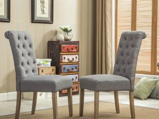 Charlotte Upholstered Dining Chair  Set of 2