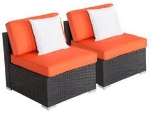 Reoso72 Kinsunny 2 piece single sofa Outdoor Patio