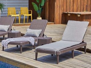 Mahina Rattan Chaise lounge by Havenside Home  Retail 153 99