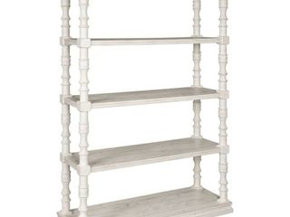 74  Dannerville Bookcase White   Signature Design by Ashley