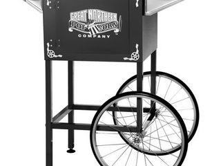 Black Replacement Cart for larger lincoln Style Great Northern Popcorn Machines