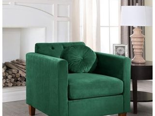 Arvilla velvet Kitts Classic Chesterfield Chair  Retail 333 49