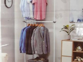 AllZONE Closet Systems Double Rail Clothing Rack