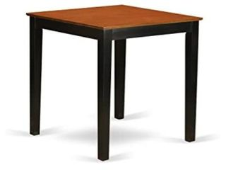 East West Furniture Pub Counter Height Table 36  Square