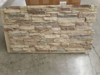 Faux Stone Tile Backsplash Panel