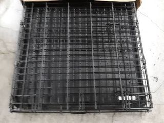 World 42  Folding Metal Dog Crate Includes leak proof Plastic Tray Dog