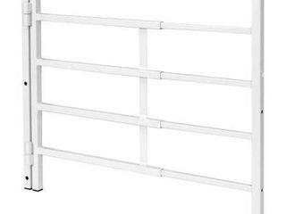 Prime line Products S 4780 4 Bar Hinged Window Guard  31 Inch   54 Inch x 21 Inch  White