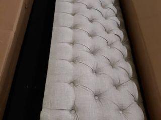 Open Box love Seat Sofa Beige