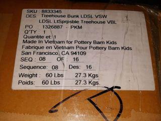 Pottery Barn Kids TreeHouse Bunk lDSl VSW