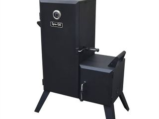Dyna Glo Vertical Offset Charcoal Smoker Model DGO1176BDC D