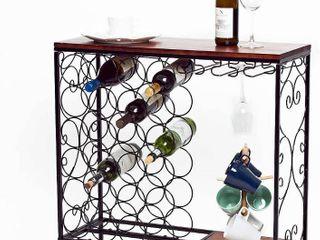 Morita Freestanding Wine Rack