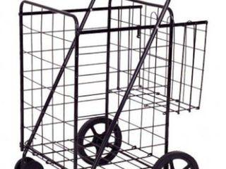 lifestyle Solutions Metal Basket Cart