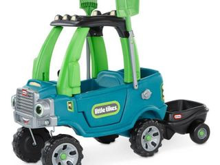 little Tikes go Green Cozy Truck with Trailer Ride On