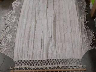 White Cloth and rope hammock