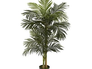 Nearly Natural 5  Golden Cane Palm Tree