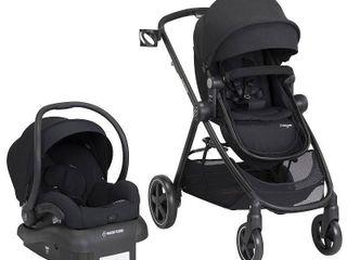 Infant Maxi Cosi 5 1 Mico 30 Infant Car Seat   Zelia Stroller Modular Travel System  Size One Size   Black