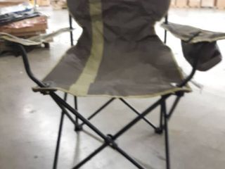 Mossy Oak Folding lawn Chair with Cupholder and storage pouch