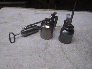 3 Vintage Oil Cans