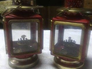 2 Vintage Oil lamps