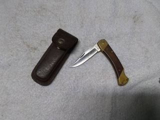 Schrade Stainless Steal Pocket Knife And Case