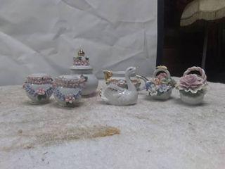 Vintage Glass Decorative Pieces