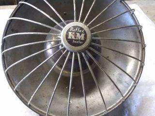 Vintage KM Reflex Electric Heater