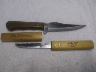 Two Stainless Steel Knives