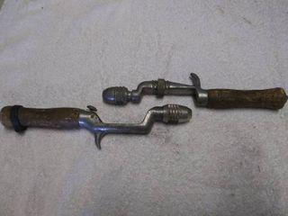 Pair of Vintage Fishing Rod Handles