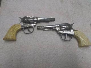 Pair of Top Gun Jr Vintage Toy Revolvers