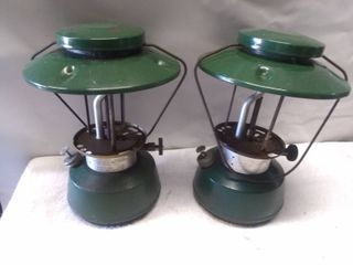 Pair of Thermos Model 8326 Gas lanterns