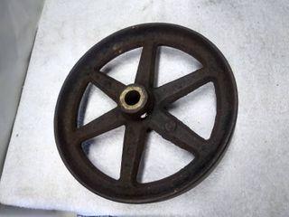 Vintage Cast Iron Wheel