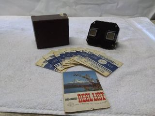 Vintage Sawyer s View Master with Reels
